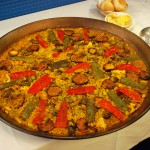 Vegetables paella