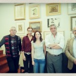 Carmen Posadas visita El Contiental