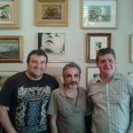 Juan Álvarez, Jorge G. y Nacho Vilar en El Continental